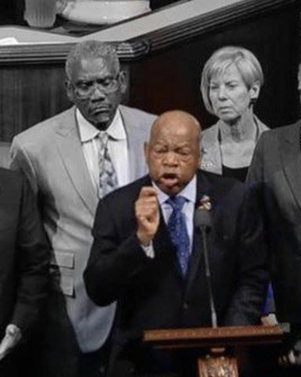 Rep. Lewis On Gun Violence: 'We Are Blind To A Crisis' Promo Image
