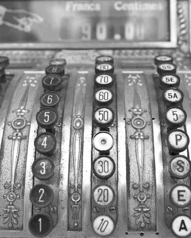 A Vintage Cash Register
