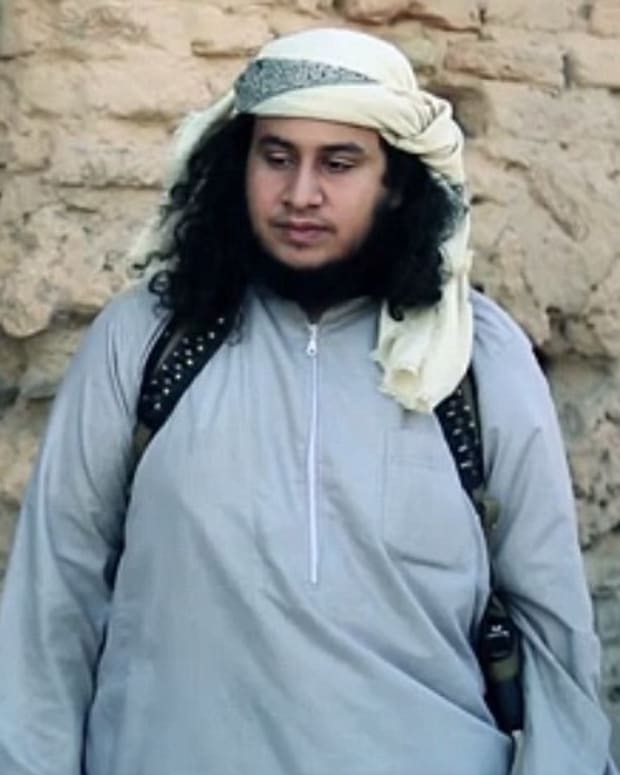 ISIS officer believed to be Abu Zaid al-Jazrawi
