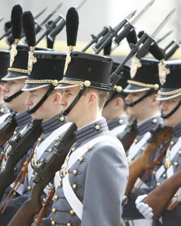 West Point Student Used Phone During Graduation (Video) Promo Image