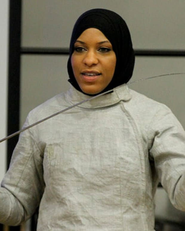 Muslim-American Olympian Told To Remove Hijab At SXSW Promo Image