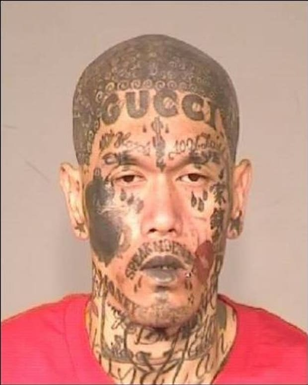 Gang Member's Booking Photo Goes Viral (Photo) Promo Image