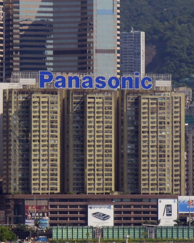 Panasonic Building in Japan