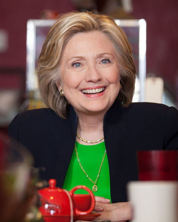 Hillary Clinton Reveals Future Plans Promo Image