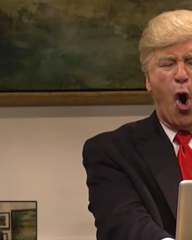Trump Blasts 'SNL': 'A Totally One-Sided, Biased Show' (Video) Promo Image