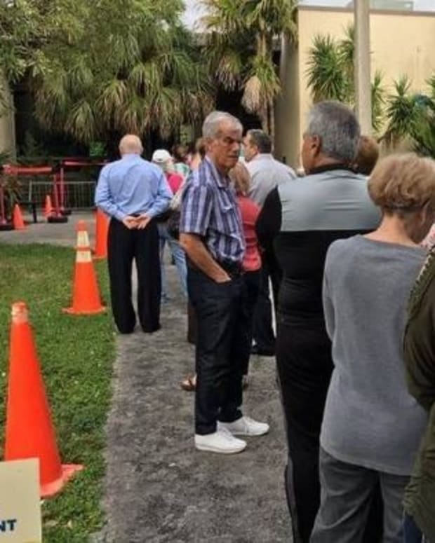 Voters Fight At Polls In South Florida Promo Image