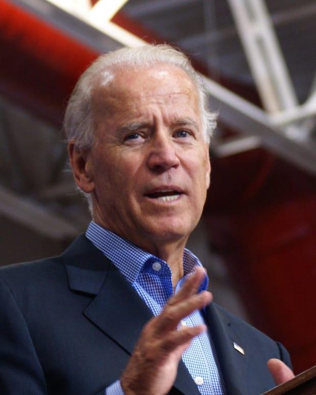 Joe Biden To Work at Trump's Alma Mater Promo Image