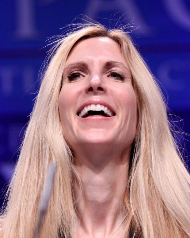 UC Berkeley Bans Ann Coulter, She Plans To Speak Anyway Promo Image