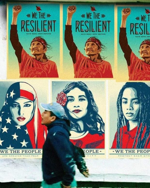 Group Raises $1 Million To Create Anti-Trump Posters Promo Image
