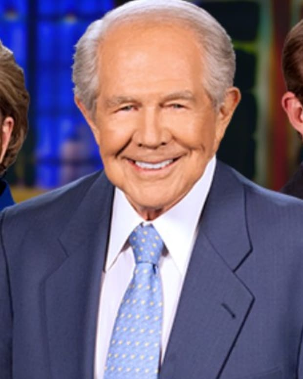 Pat Robertson: People Opposing Trump Are Opposing God (Video) Promo Image