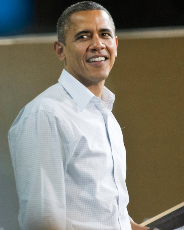Barack Obama Gets Rock Star Welcome In Italy (Photos) Promo Image