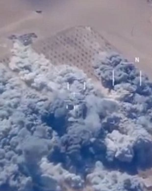 Watch US Airstrikes Take Out Five ISIS Targets (Video) Promo Image