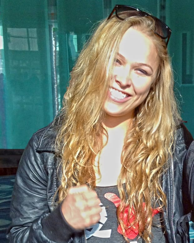 Ronda Rousey Pictured After UFC Loss (Photo) Promo Image