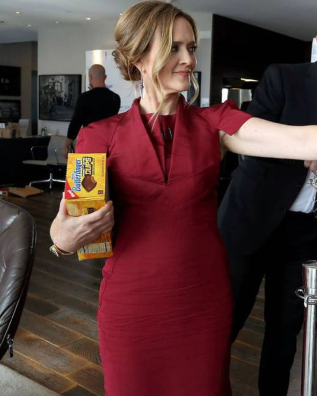 Samantha Bee's Show Apologizes For 'Nazi Haircut' Joke Promo Image