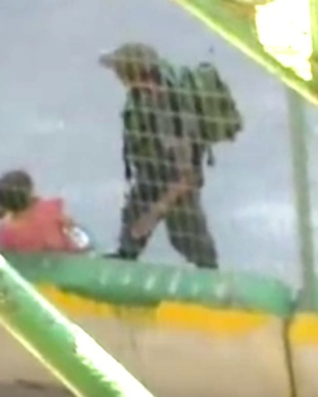 Border Guards Take Girl's Bike, Toss Into Bushes (Video) Promo Image
