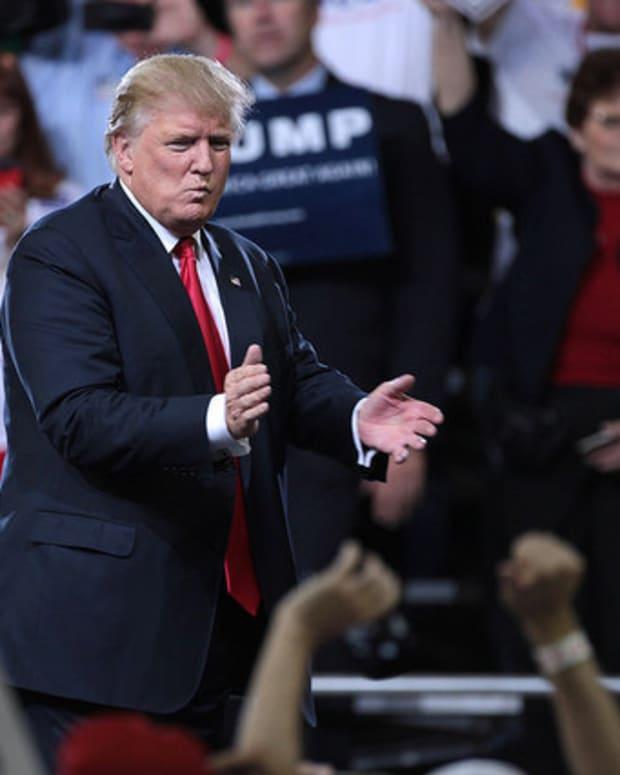 Sen. Joni Ernst, Gov. Mike Pence Rumored For Trump VP Spot Promo Image