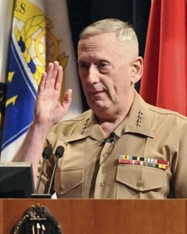 Trump May Pick Fmr. Gen. Mattis As Defense Secretary Promo Image