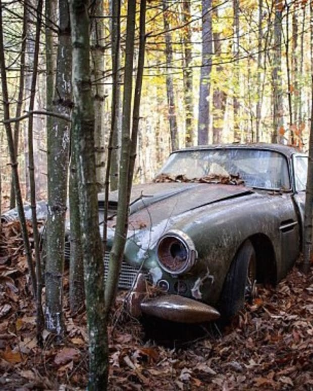 Car Left Rusting In Woods For 40 Years Worth A Fortune (Photos) Promo Image