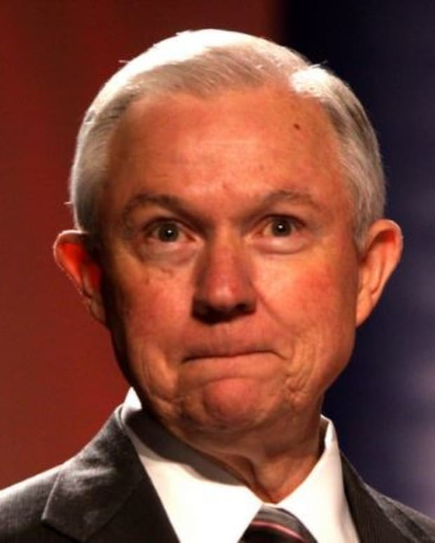 Top Democrats Call For Sessions To Resign Promo Image