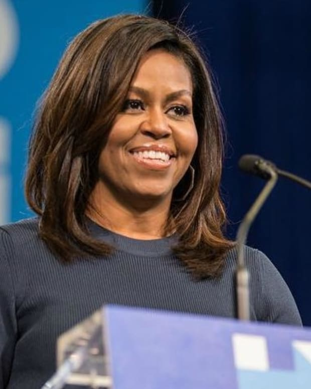 Michelle Obama's Subtle Fashion Statement At Farewell (Photo) Promo Image