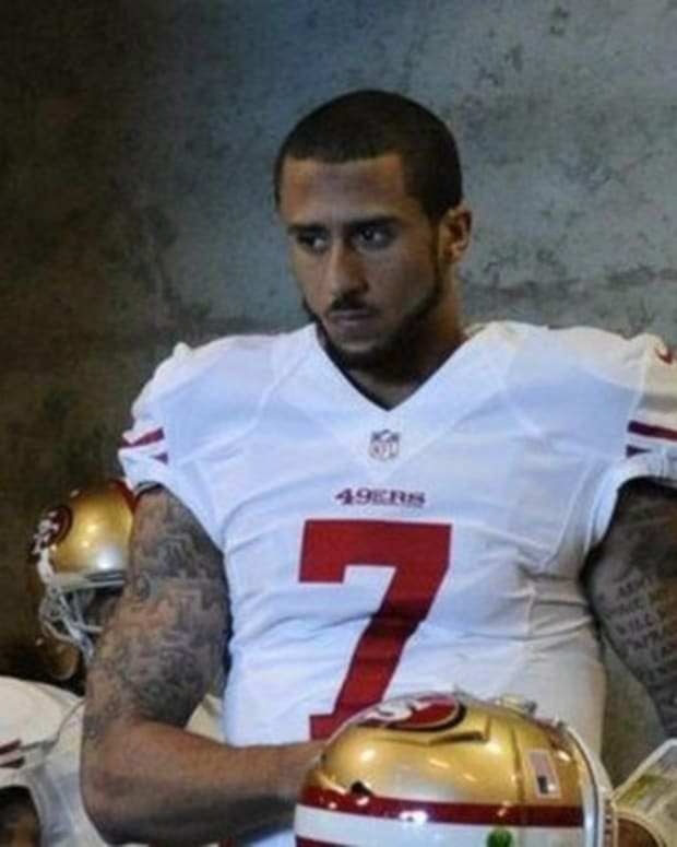 NFL Responds After Kaepernick Says Racist America Can't Be Great Because It Never Was Promo Image