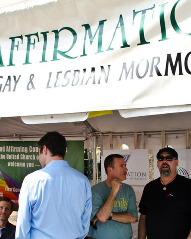 Mormon Church Cuts Girl's Mic As She Comes Out As Gay (Video) Promo Image