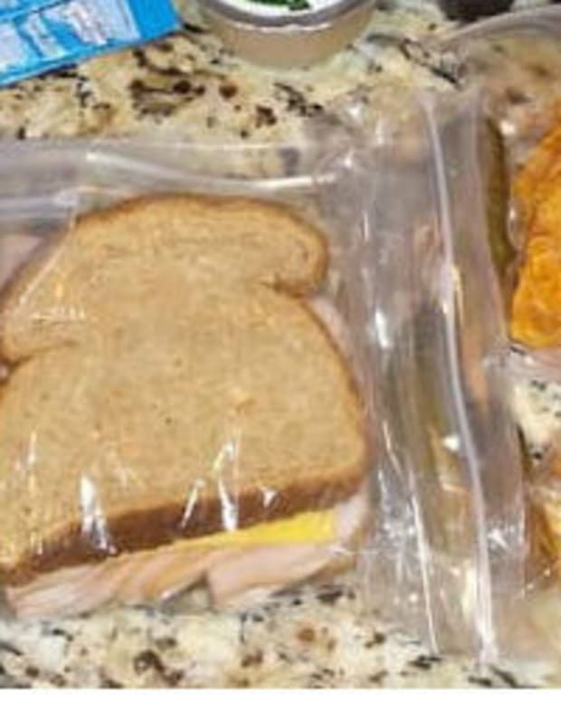 Mom Shocked After Son Asks For Two Lunches (Photos) Promo Image