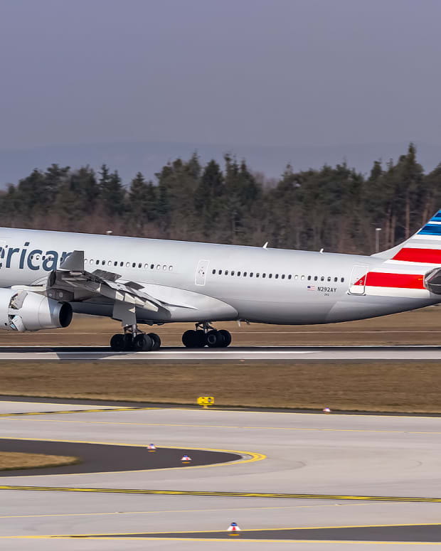 American Airlines Co-Pilot Dies Mid-Flight Promo Image