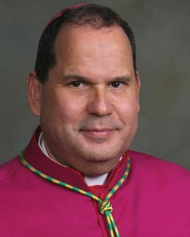 Catholic Bishop Punched In Face During Mass (Video) Promo Image