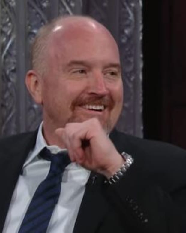 Louis C.K. Blasts Trump On The Late Show (Video) Promo Image
