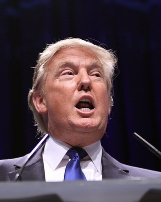 Trump Mocks 'Apprentice' Ratings At Prayer Breakfast (Video) Promo Image