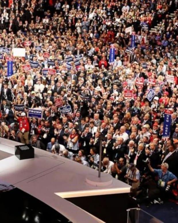 Trump Pledges To Protect LGBTQ Citizens Promo Image