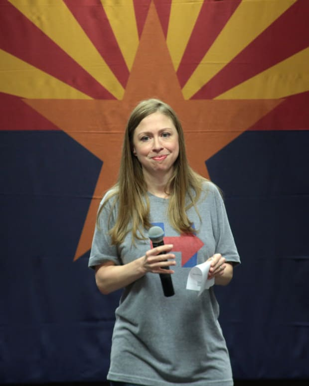 Chelsea Clinton Fuels Speculation Of Presidential Bid Promo Image