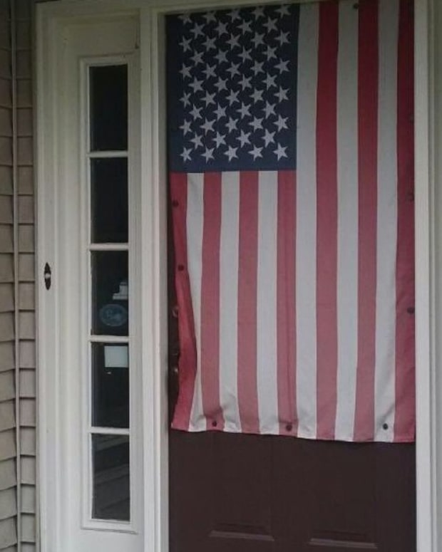Man Fights HOA For Right To Hang American Flag Promo Image