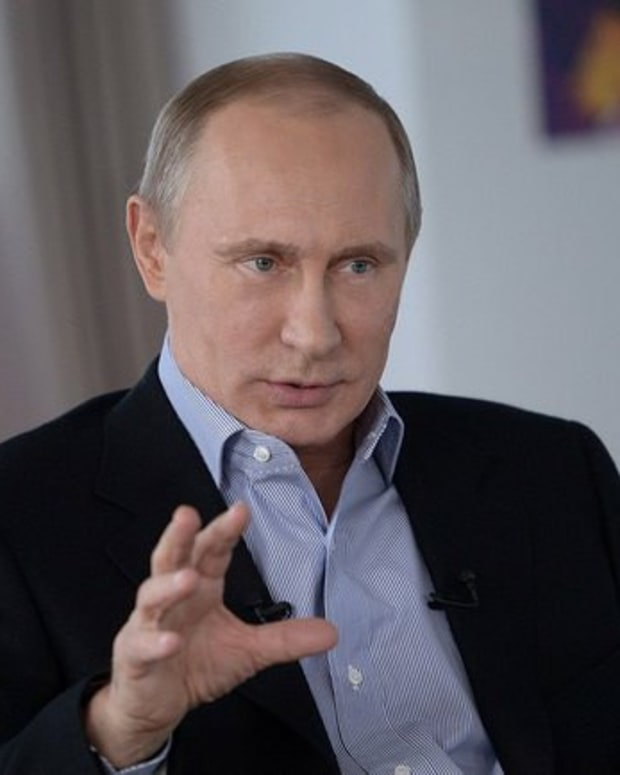 Putin: I Don't Know Who Hacked DNC, But It Wasn't Russia Promo Image