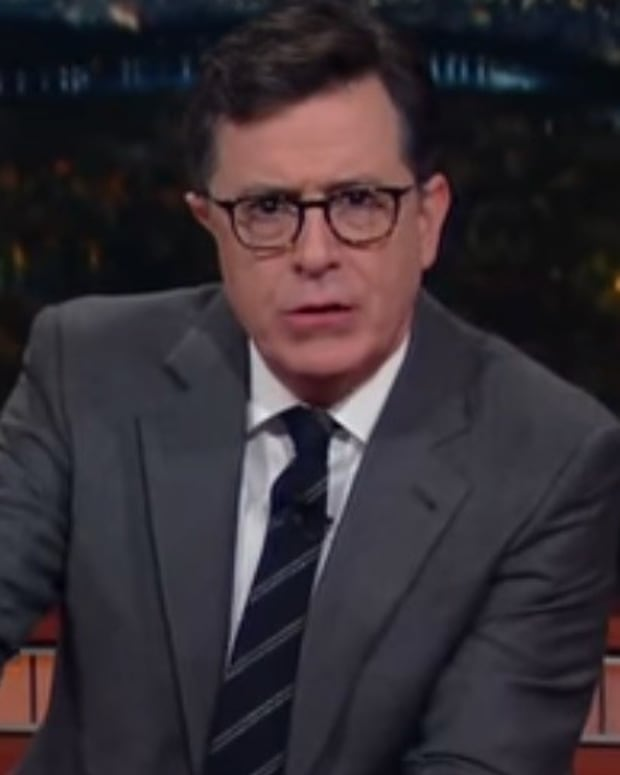 Rumor: James Corden To Replace Colbert On 'Late Show' Promo Image