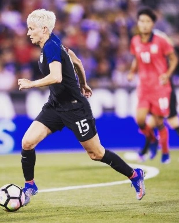 Megan Rapinoe Punished Over Not Standing For Anthem? Promo Image