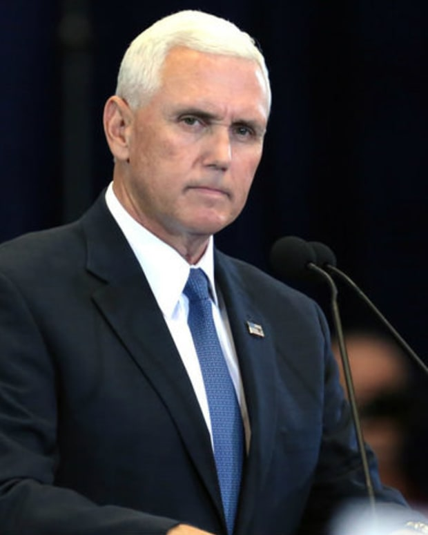 Pence Praises Anti-Gay Radio Host: 'Greatest Honor' Promo Image