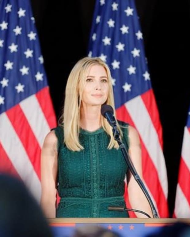 Ivanka Trump Weighs In On U.S. Airstrike Against Syria Promo Image