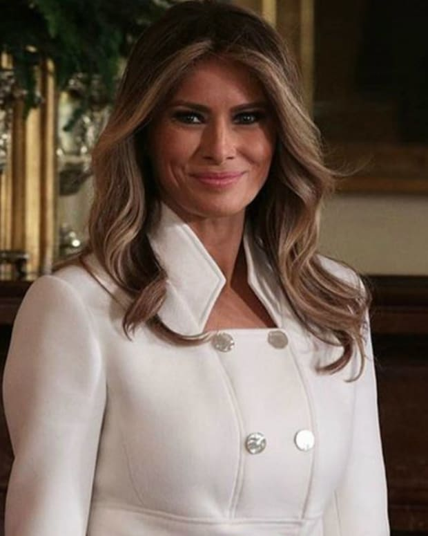 What Melania Trump Will Be Doing During The Oscars Promo Image