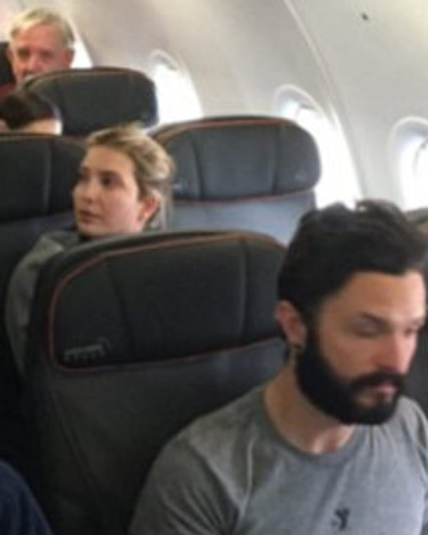 Man Removed From Plane After Incident With Ivanka Trump Promo Image