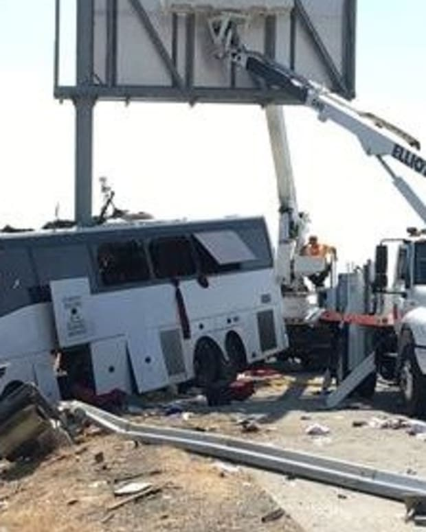 Horrific California Bus Crash Kills At Least Five Promo Image
