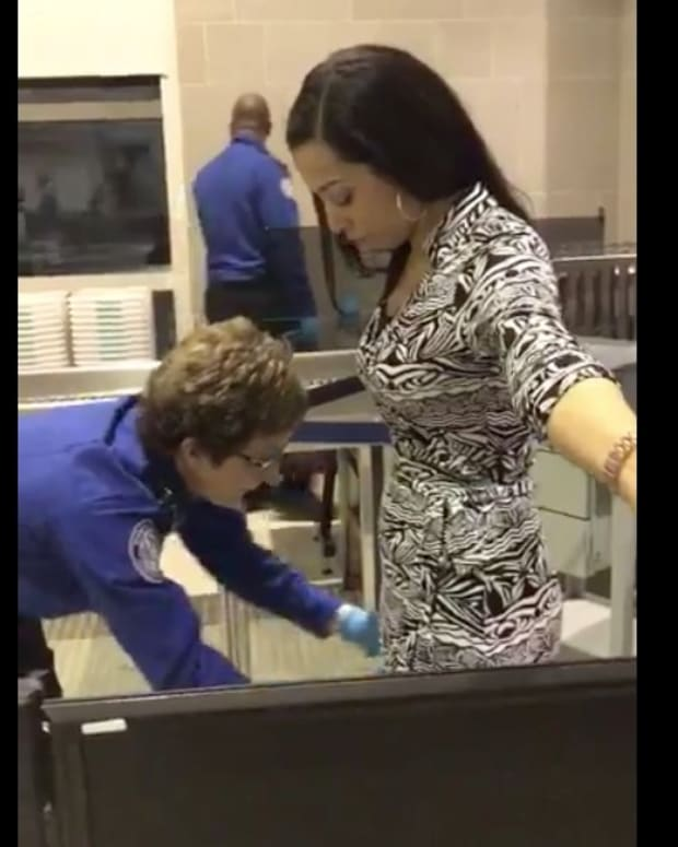 CNN's Angela Rye Undergoes Humiliating TSA Body Search (Video) Promo Image