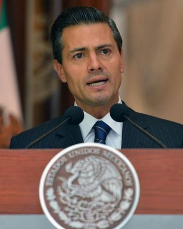Mexico's President Nieto Cancels Meeting With Trump Promo Image