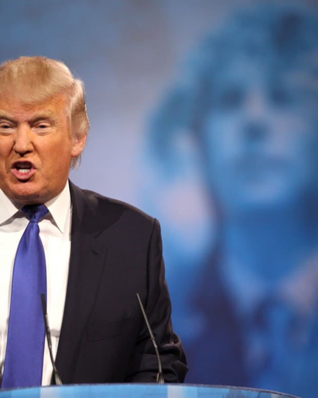 Donald Trump Does Something Shocking To Women (Photo) Promo Image