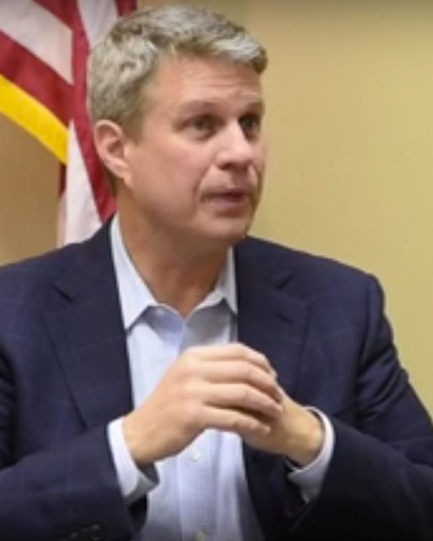 Rep. Bill Huizenga Delayed Son's Broken Arm Treatment (Video) Promo Image