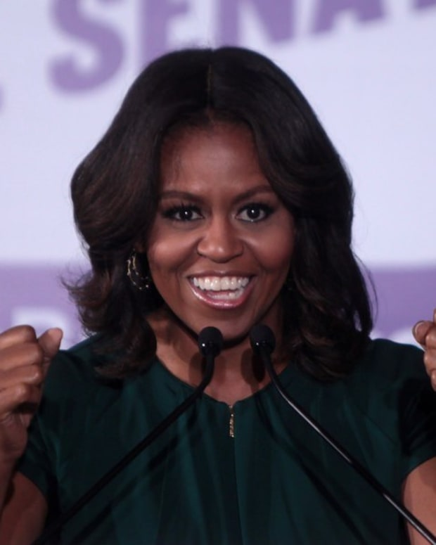 Michelle Obama Visits Public School In Washington Promo Image