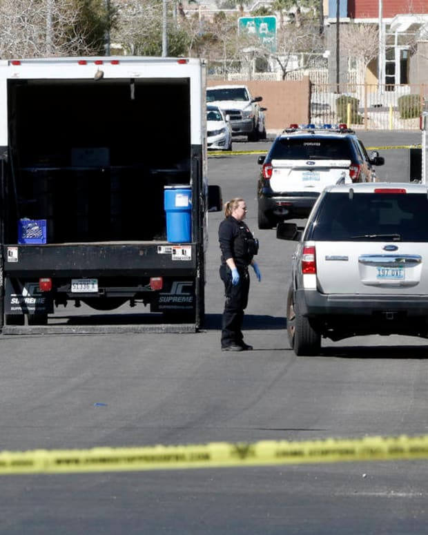 One Dead, Two Wounded In Las Vegas Home Invasion Promo Image