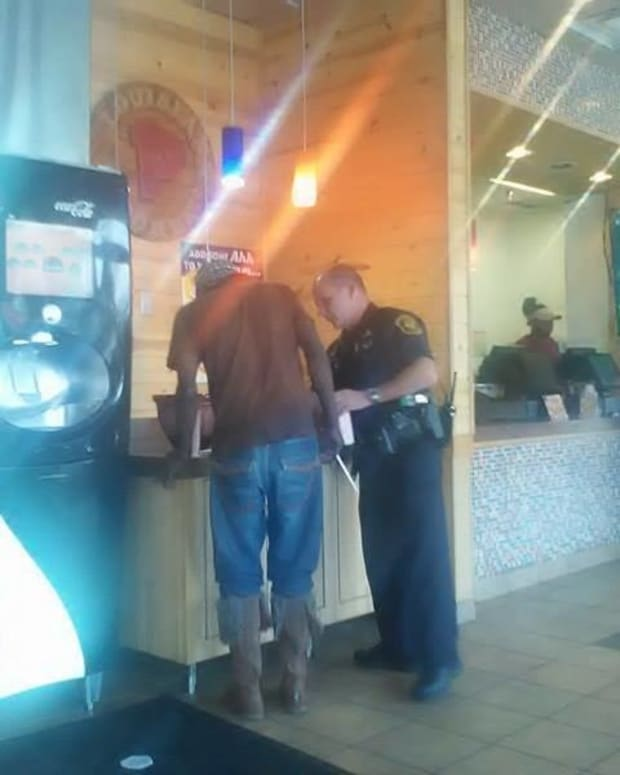 Officer's Encounter With Black Man Goes Viral Promo Image