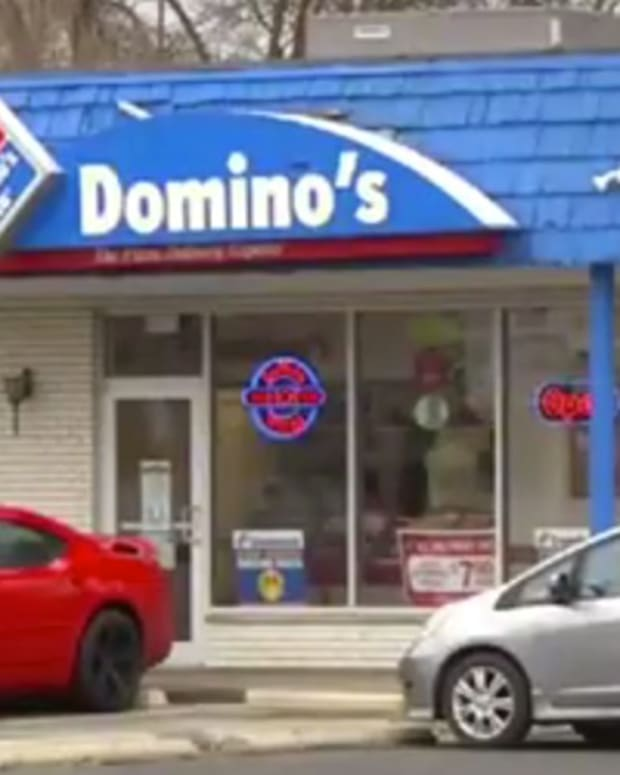 Christian Domino's Driver Tries To Convert Customers (Video) Promo Image